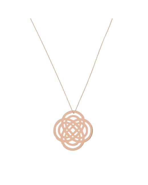 Ginette NY | Pink Purity On Chain Necklace | Lyst