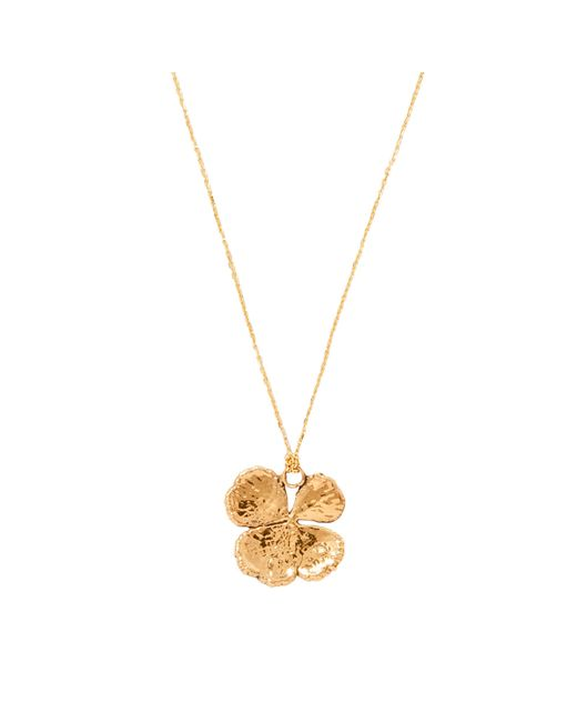 Aurelie Bidermann - Metallic Fine Jewellery - Natural Mini Clover 18 K - Lyst