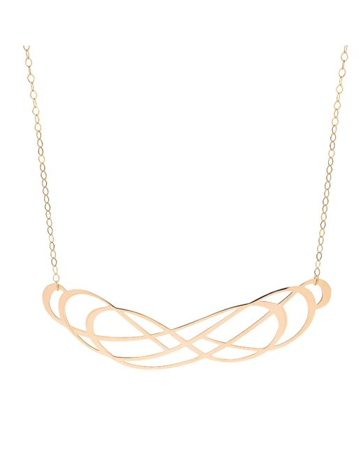Ginette NY - Metallic Volute Necklace - Lyst