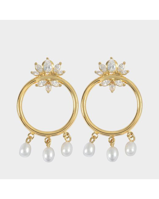 Shourouk - Metallic Loops Star Earrings - Lyst