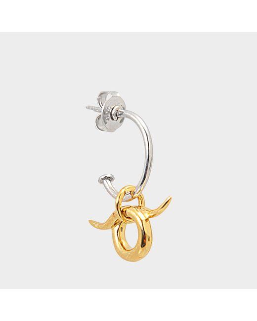 Charlotte Chesnais - Metallic Mini Horn Earring Unit - Lyst