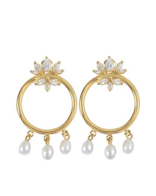 Shourouk | Metallic Loops Star Earrings | Lyst