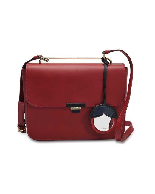 Furla - Red Elisir S Crossbody Bag - Lyst