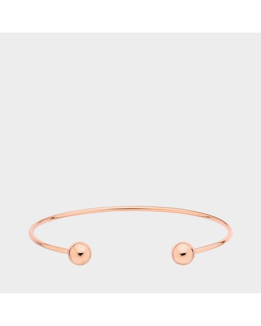 Vanrycke - Pink Little L Bangle - Lyst