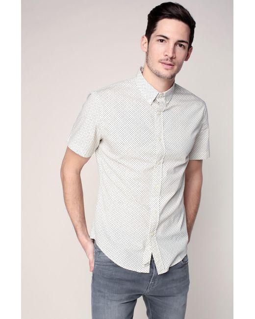 Denim & Supply Ralph Lauren - White Short Sleeve Shirt for Men - Lyst