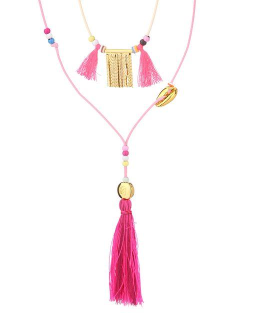 Hipanema | Pink Necklace / Longcollar | Lyst