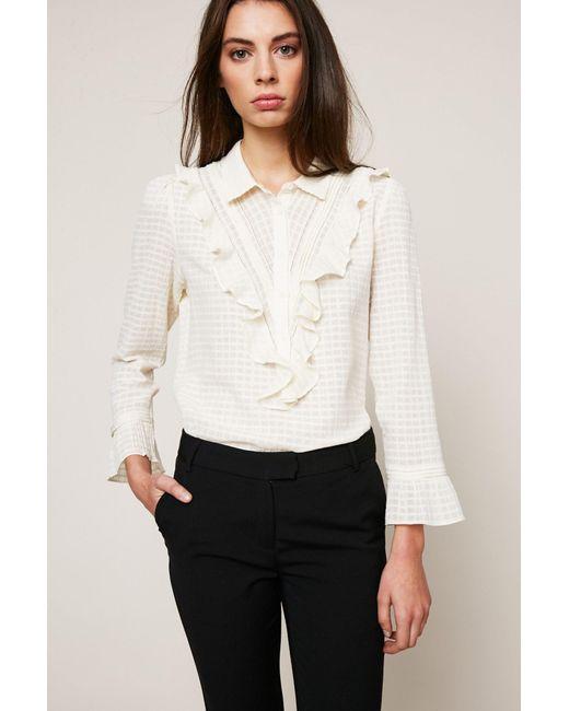 Ba&sh - White Embroidered Tunics - Lyst