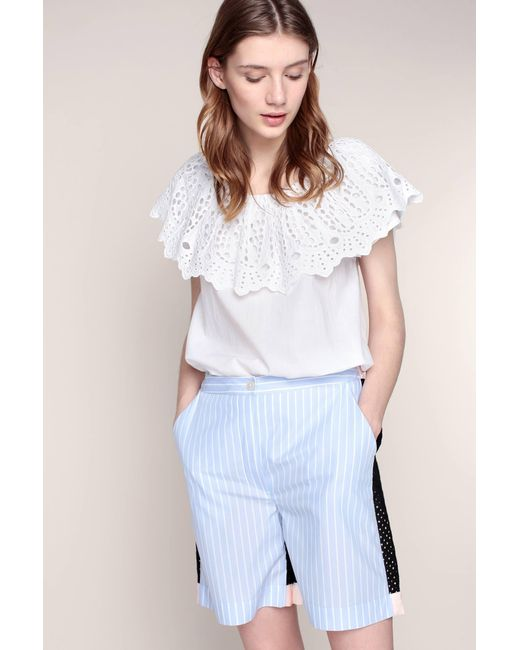 Sonia by Sonia Rykiel | Blue High-waisted Short | Lyst