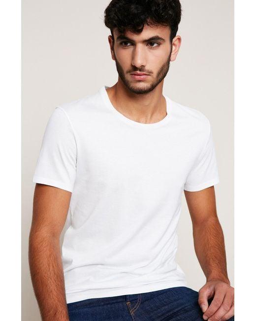 American Vintage - White T-shirt for Men - Lyst