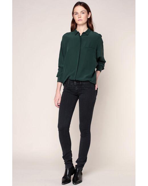 DIESEL | Black Slim-fit Trousers | Lyst