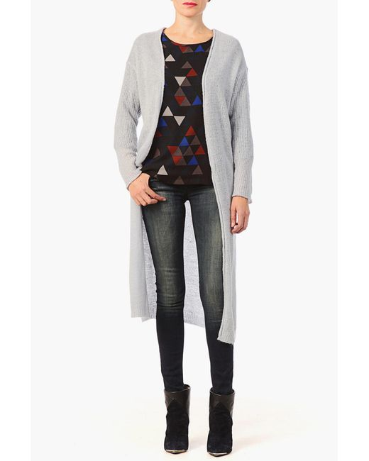 ONLY - Blue Cardigans - Lyst