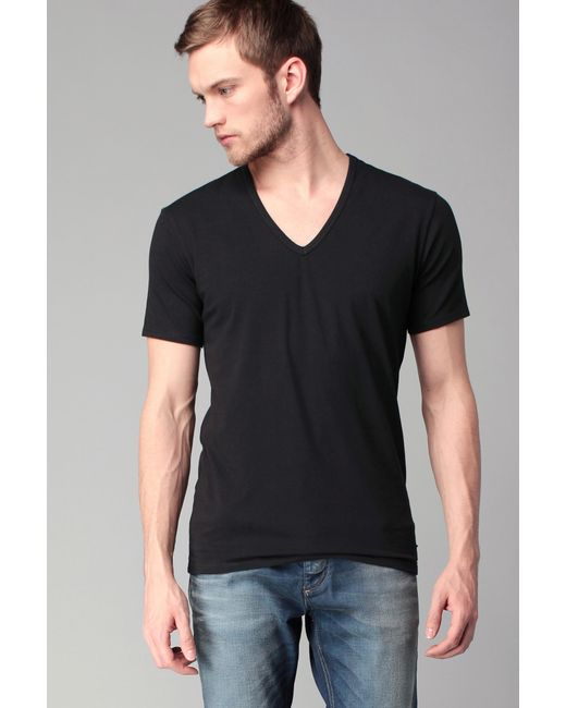 Calvin Klein | Black T-shirt for Men | Lyst