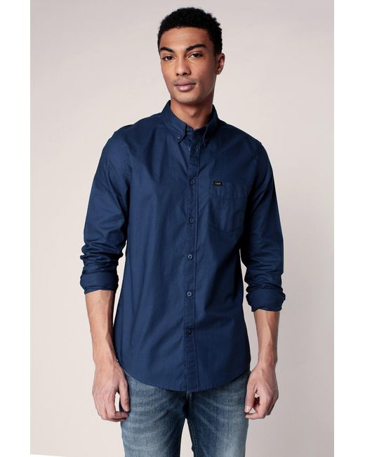 Lee Jeans | Blue Long Sve Shirt for Men | Lyst