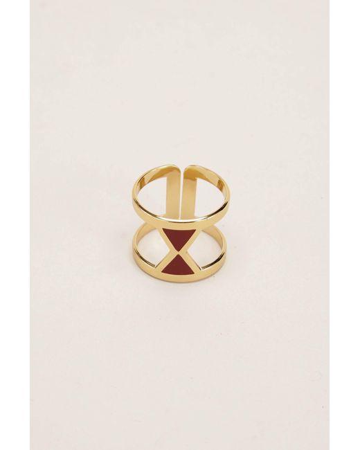 Anne Thomas | Metallic Ring | Lyst