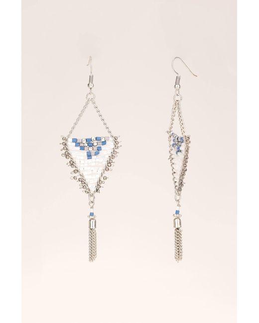 Pieces | Blue Earrings | Lyst