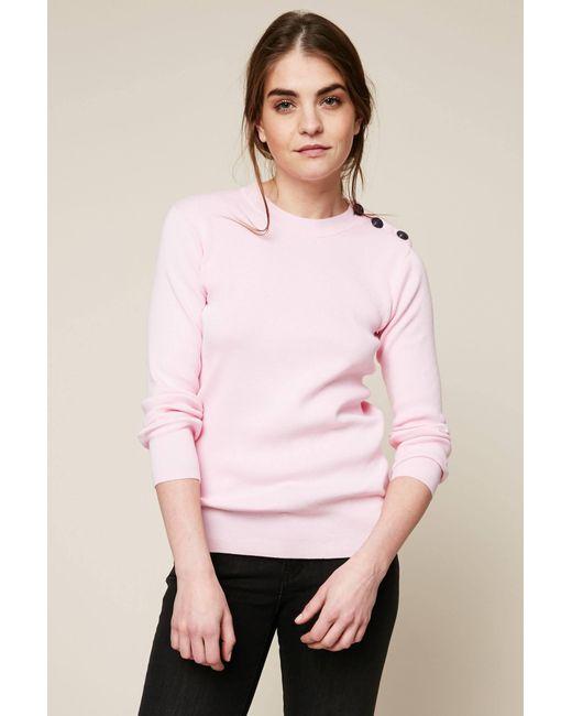 Petit Bateau - Pink Jumper - Lyst