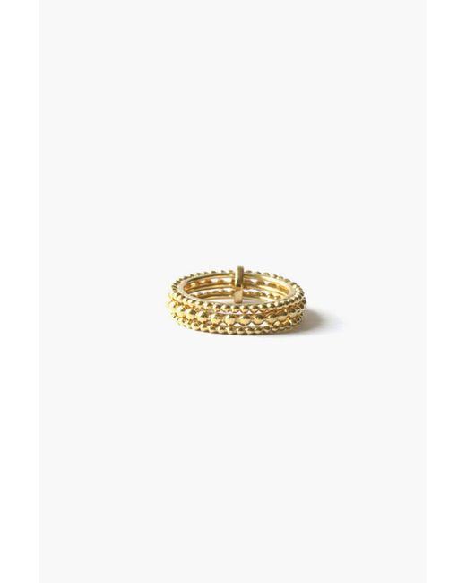 Agnes De Verneuil   Metallic Ring   Lyst