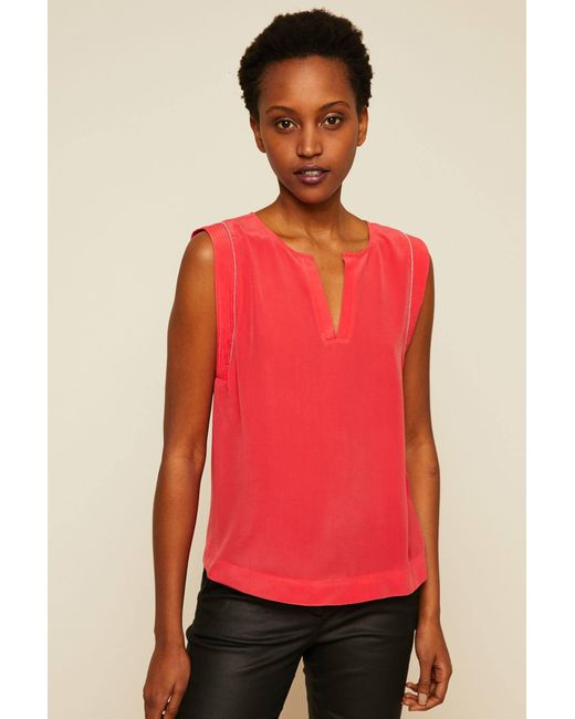 IKKS - Red Top - Lyst