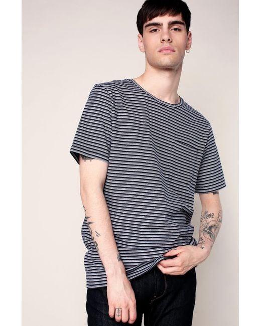 Anerkjendt - Blue T-shirt for Men - Lyst