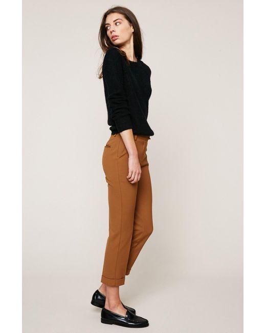 See U Soon | Brown 7/8-length Trouser | Lyst
