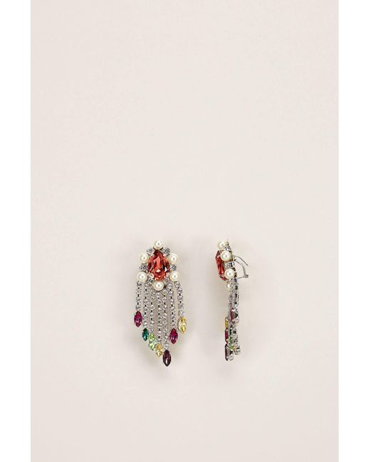Shourouk - Gray Earrings - Lyst