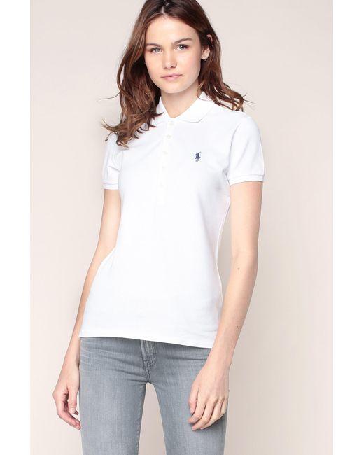 Polo Ralph Lauren | White T-shirts & Polo Shirts | Lyst