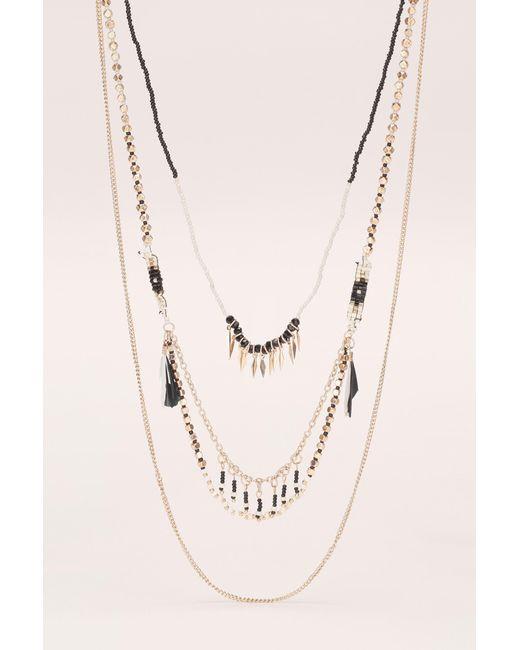 Pieces | Multicolor Necklace / Longcollar | Lyst