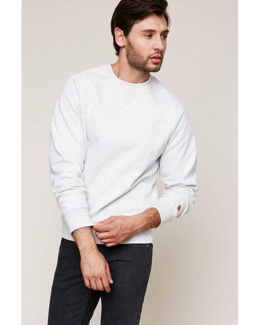 Carhartt WIP - Gray Sweatshirt for Men - Lyst