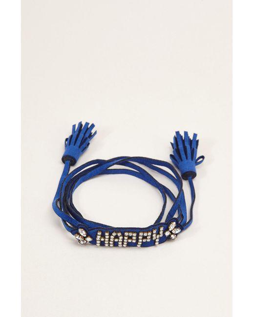Shourouk   Blue Bracelet   Lyst