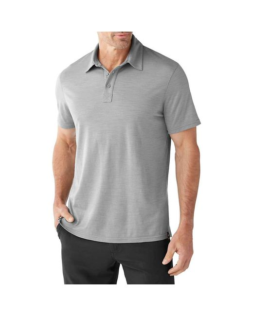 Smartwool - Gray Merino 150 Pattern Polo for Men - Lyst
