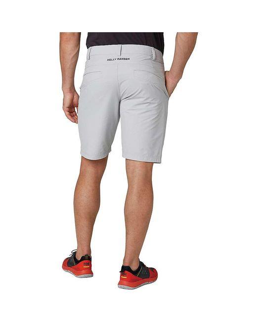 6f90abf1ffdaa9 Helly Hansen - Gray Hp Qd Club Shorts 10 Inch for Men - Lyst