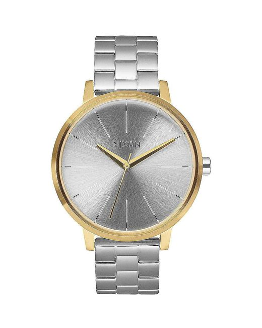 Nixon - Metallic Kensington Watch - Lyst