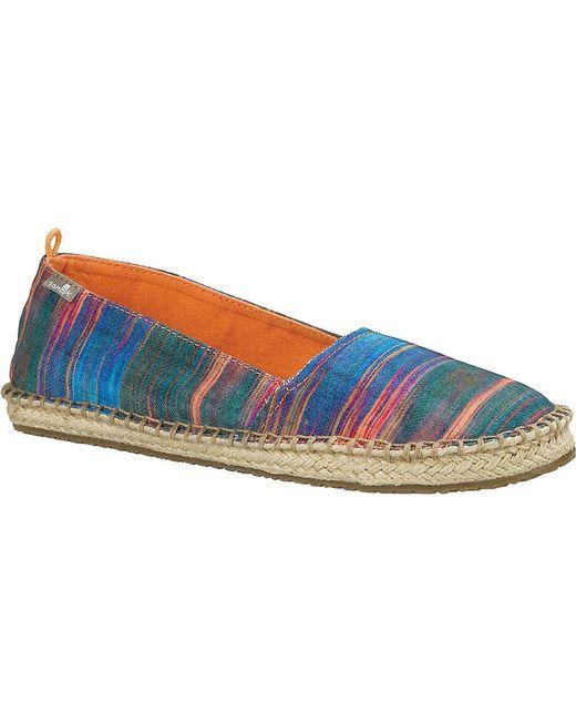 Sanuk - Blue Natal Shoe - Lyst