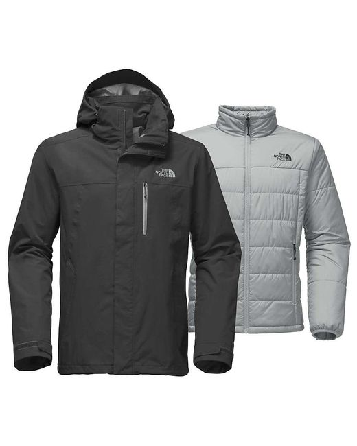 cc5dba682bac ... Arrowood Triclimate Jacket The North Face - Gray Carto Triclimate Jacket  for Men - Lyst ...