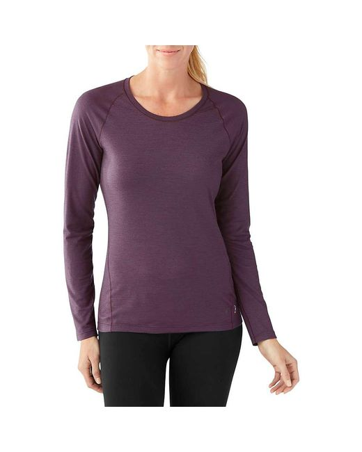 Smartwool - Purple Merino 150 Baselayer Ls Top - Lyst