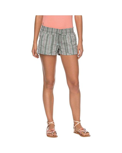 Roxy - Blue Oceanside Short Yd - Lyst