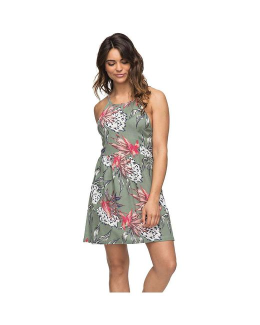 Roxy - Green Antelope Curves Dress - Lyst