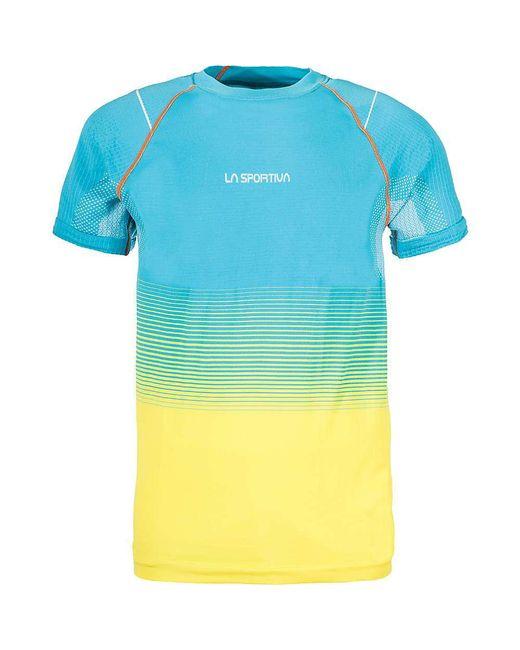 La Sportiva - Black Skin T-shirt for Men - Lyst