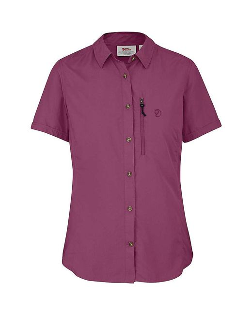 Fjallraven | Purple Abisko Hike Ss Shirt for Men | Lyst