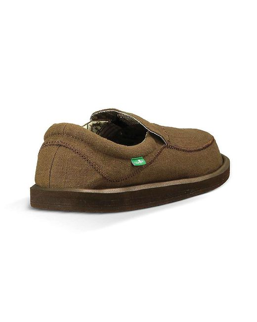 c1786cb6727f Lyst - Sanuk Chiba Stitched Shoe in Brown for Men