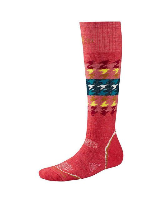Smartwool - Red Phd Snowboard Medium Sock - Lyst