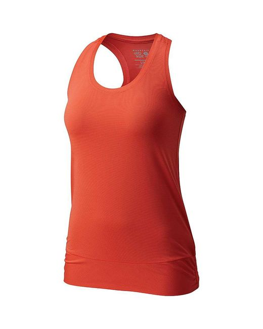 Mountain Hardwear - Red Wicked Lite Tank - Lyst