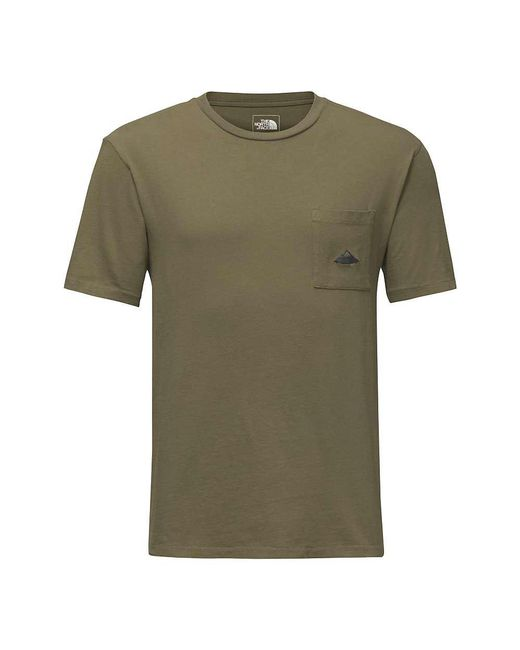 The North Face - Black Well Loved Pocket Tee for Men - Lyst