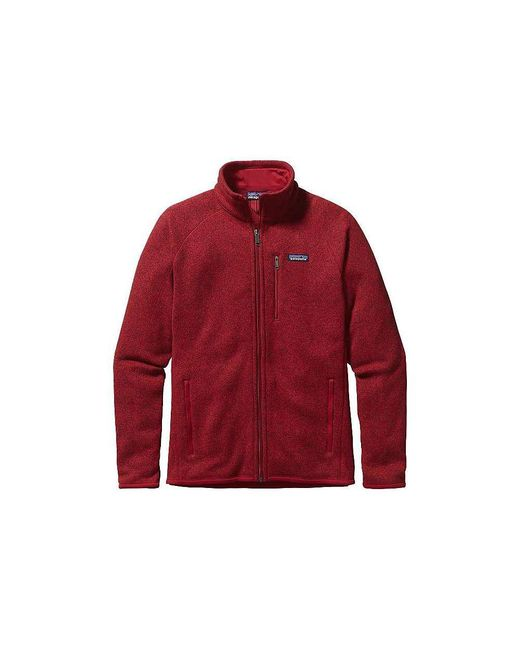 Patagonia - Red Better Sweater Jacket for Men - Lyst