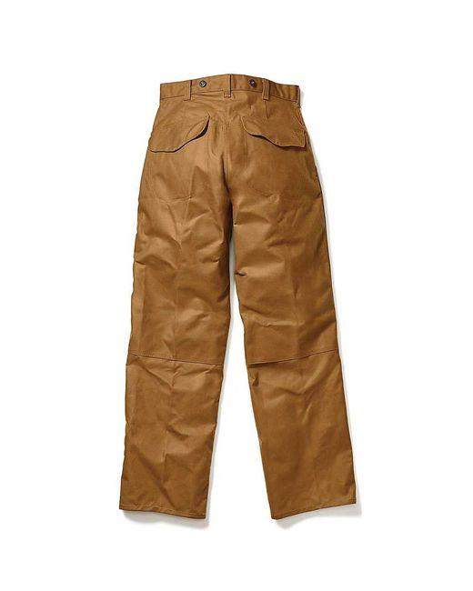 Filson OIL FINISH DOUBLE TIN PANTS-Tan, Style#067, filson ... |Filson Tin Pant Oil Finish