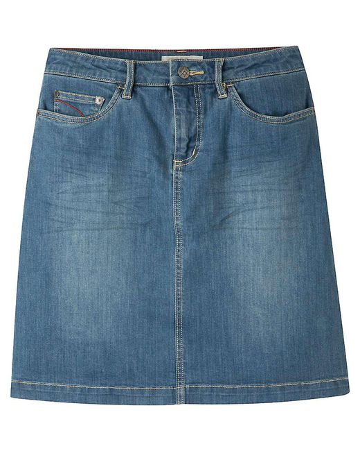 Mountain Khakis - Blue Genevieve Classic Fit Jean Skirt - Lyst