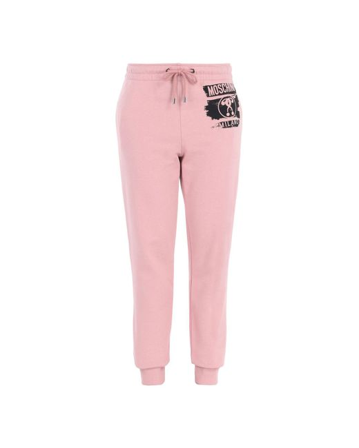 Moschino | Pink Casual Trouser | Lyst