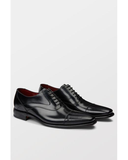 Loake - Sharp Black Polished Toe Cap for Men - Lyst