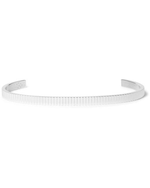 Le Gramme | Metallic Le 13 Guilloché Polished Sterling Silver Bracelet for Men | Lyst