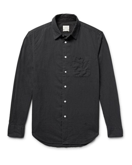 Rag & Bone | Black Standard Issue Beach Slim-fit Cotton Shirt for Men | Lyst
